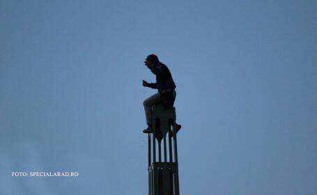 tentativa de suicid Arad FOTO: SPECIALARAD.RO