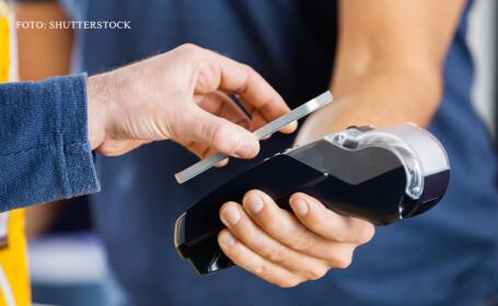 plata la POS cu telefonul mobil