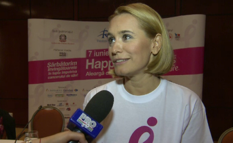 andreea esca race for cure