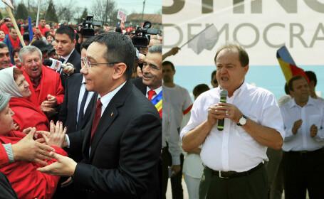 Victor Ponta, Vasile Blaga - AGERPRES