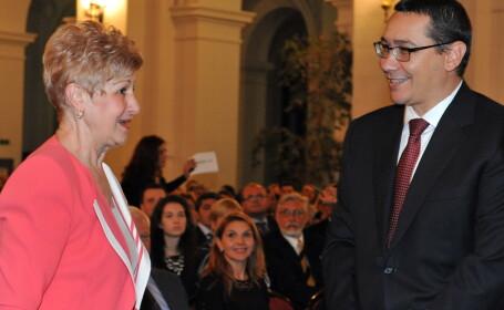 Livia Stanciu, Victor Ponta - AGERPRES