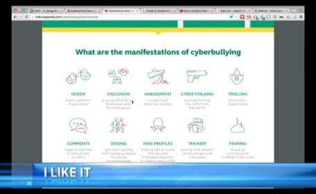 cyberbully - STIRI