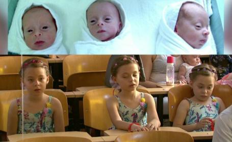La nastere, aveau doar cateva sute de grame. Intalnire emotionanta intre medici si copiii nascuti prematur la Cantacuzino