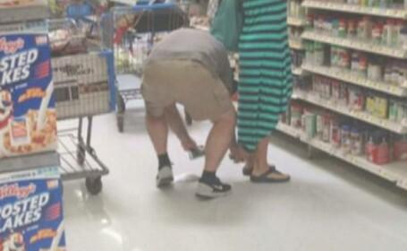 Un american a fost arestat pentru ca le facea poze pe sub fusta clientelor dintr-un supermarket. Cum a fost dat in vileag