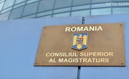 Sigla Consiliului Superior al Magistraturii (CSM)