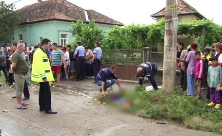 O fetita de 12 ani a murit dupa ce a traversat in fuga printr-un loc nepermis. Familia ei a sarit sa-l linseze pe sofer