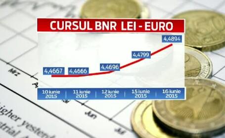 curs leu - euro