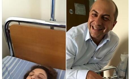 Sotia ambasadorului Olandei la Bucuresti a ales sa faca o operatie ortopedica intr-un spital de stat din Romania. FOTO