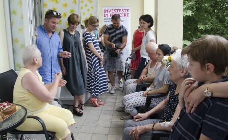 Cei care au invins cancerul si pacientii actuali de la Elias, intalnire emotionanta in sectia nou-renovata a spitalului