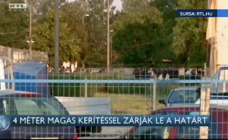 Ungaria ridica un gard de 4 metri pe 175 de kilometri de granita. Reactia Serbiei: \