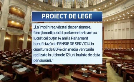 Alesii vor pensii speciale si pentru angajatii din Parlament. Suma pe care ar incasa-o un functionar dupa 14 ani de munca
