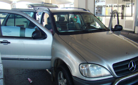 Ce au gasit politistii din vama Giurgiu in portbagajul unui Mercedes condus de un irakian. Destinatia era o tara europeana