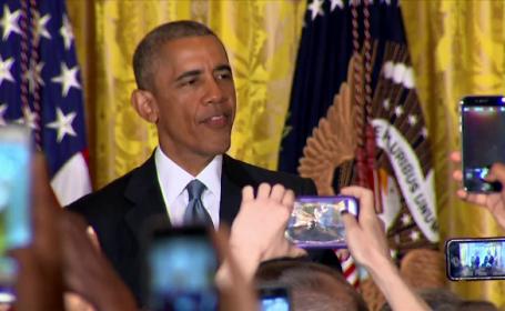 Barack Obama, huiduit la receptia oferita pentru comunitatea gay. Reactia presedintelui a starnit aplauze: VIDEO