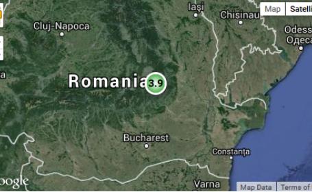 Seism cu magnitudinea 3,9 in judetul Buzau, vineri noapte. 21 de cutremure inregistrate in luna iunie, in Romania