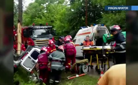 Tanara insarcinata, implicata in accidentul rutier din Prahova, este in stare buna si ea, dar si bebelusul din pantece