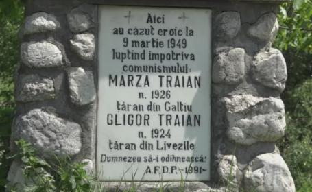 Doi partizani anticomunisti, rapusi de securitate in 1949, au fost dezgropati. Cine au fost Traian Gligor si Traian Marza