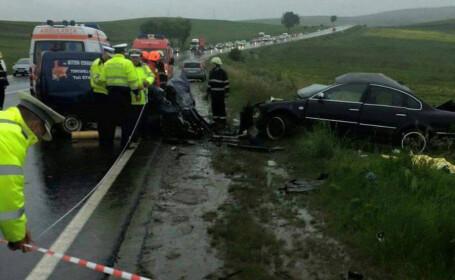 accident Cluj DN 1 E 60Tureni-Copaceni