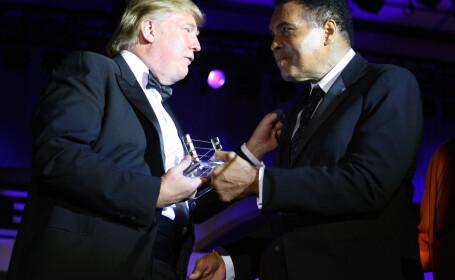 Donald Trump si Muhammad Ali