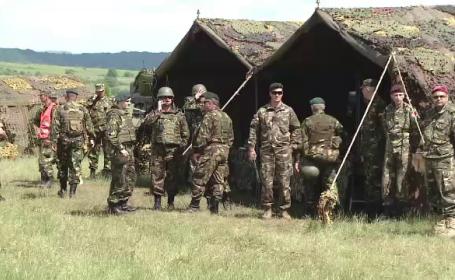 exercitiu militar in Brasov