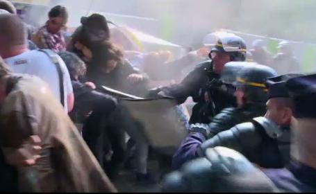 Proteste la Paris