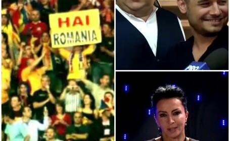 vedete incurajeaza Romania