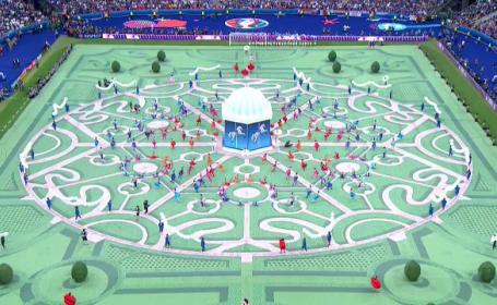 UEFA EURO 2016. Festivitatea de deschidere