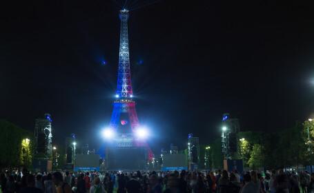 Romanii si francezii au urmarit la Paris meciul istoric de deschidere a Campionatului European: \