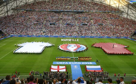 ANGLIA - RUSIA 1-1. Haos pe stadion dupa ce rusii au egalat in ultimul minut. REZUMATUL VIDEO