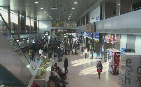 Mai multi angajati ai unor firme care opereaza la Aeroportul Otopeni, cercetati penal. Ce ar fi facut cu mai multi pasageri