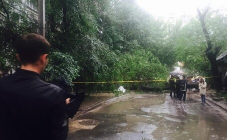 femeie ucisa de un copac prabusit in Chisinau