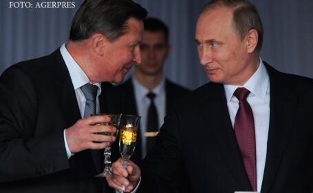 Serghei Ivanov si Vladimir Putin