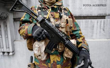 militar belgian in Bruxelles