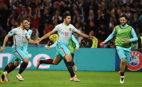 Turcii bat Cehia si spera la calificare. Ucraina-Polonia 0-1, Irlanda de Nord-Germania 0-1, Cehia-Turcia 0-2