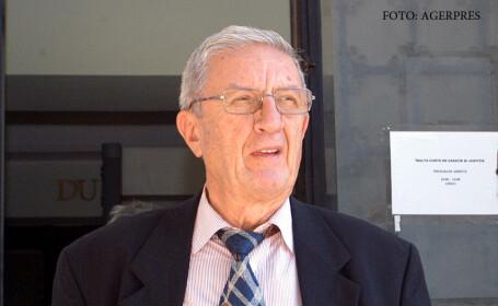 Fostul ministru al Apararii Victor Stanculescu a fost incinerat miercuri. Ion Iliescu a participat la ceremonie