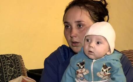 La 16 ani a devenit mama, dupa ce intreaga copilarie a fost maltratata de propriul tata. Drama unei copile din Vaslui