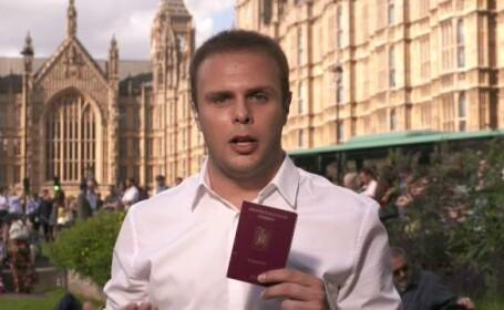 Corespondentul Paul Angelescu din Londra: \