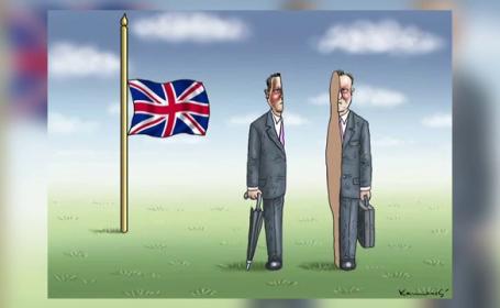 Cele mai tari glume si caricaturi, dupa BREXIT. Cum s-a facut haz de necaz dupa iesirea Marii Britanii din UE