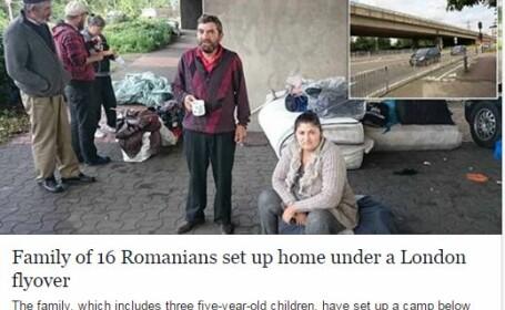 familei de romi in UK