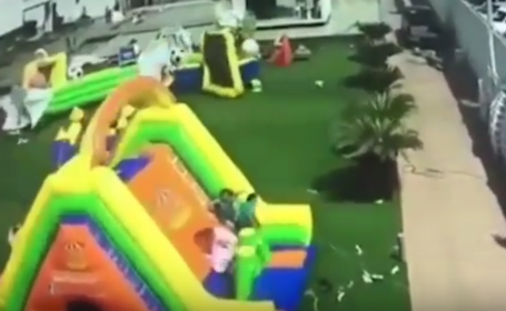 Momente de panica la o petrecere de copii