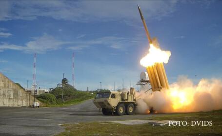 test sistem anti-racheta THAAD