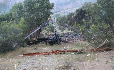 Kurzii afirma ca au doborat un elicopter al armatei turce. Cine se afla la bordul aparatului de zbor