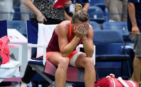 Halep a pierdut in setul decisiv cu Wozniacki, la Eastbourne, in al doilea meci de joi. Vestea proasta pentru romanca