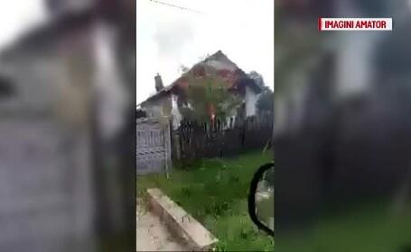 incendiu Olt