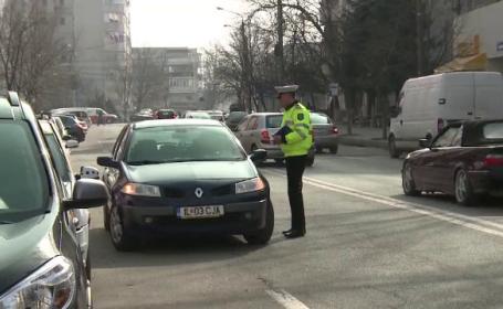 Politistii au folosit focuri de arma pentru a aplana un conflict pentru un loc de parcare din Sectorul 1 al Capitalei