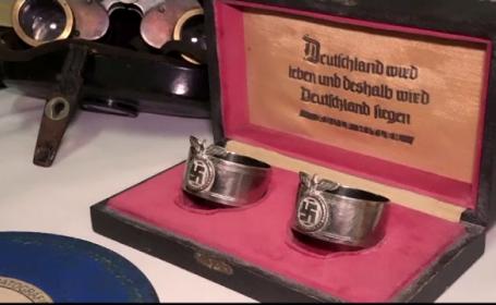 Obiecte naziste, descoperite intr-o incapere secreta a unui colectionar din Argentina. Hitler s-ar fi refugiat aici