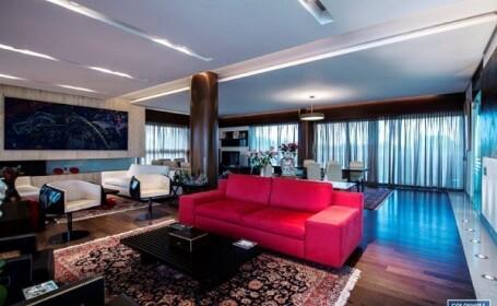 Topul celor mai scumpe apartamente care se vand in Romania. Cum arata penthouse-ul de 3,8 mil. euro. GALERIE FOTO