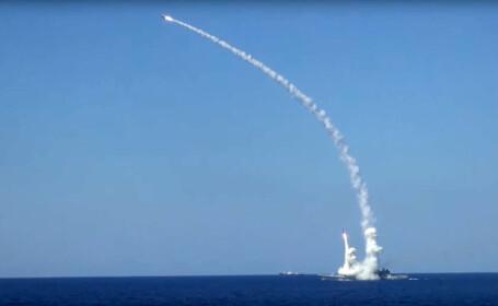 rachete Kalibr lansate de rusi asupra Siriei