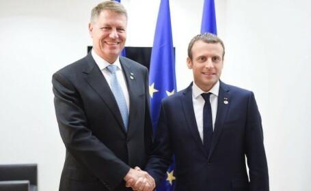 Macron a acceptat invitatia de-a vizita Romania