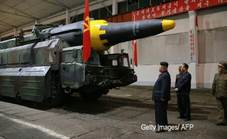 coreea de nord racheta