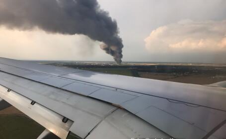 Incendiu in Balotesti: depozitele nu aveau aviz ISU si nici sistem de stingere a focului. Neregulile descoperite de pompieri